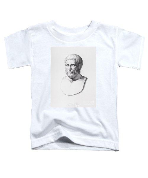 Portrait Of Pythagoras Toddler T-Shirt
