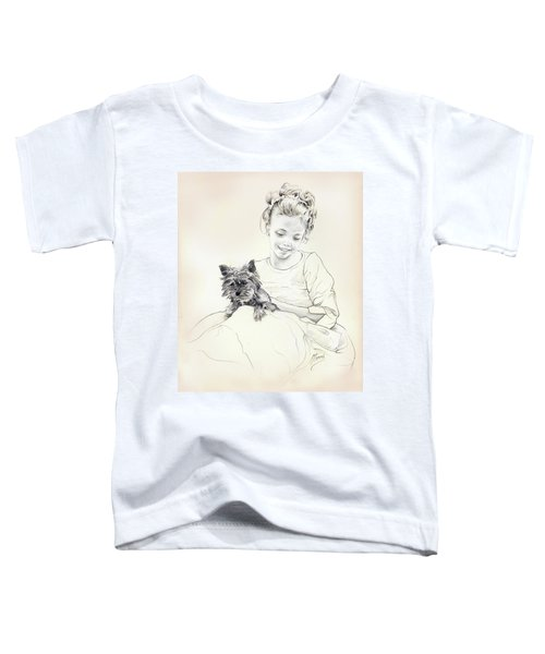 Portrait Of Sylwia Toddler T-Shirt