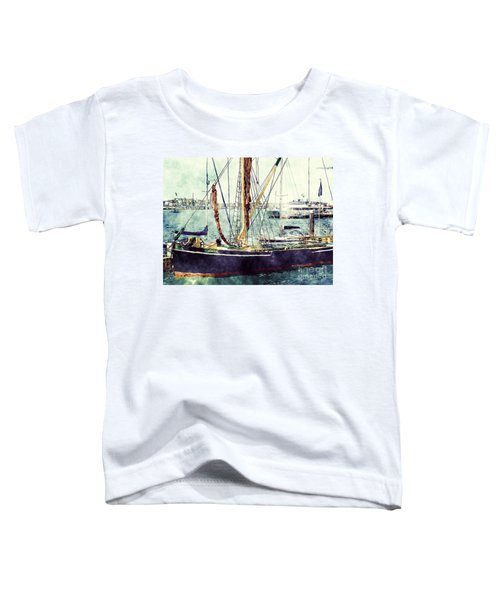 Portsmouth Harbour Boats Toddler T-Shirt