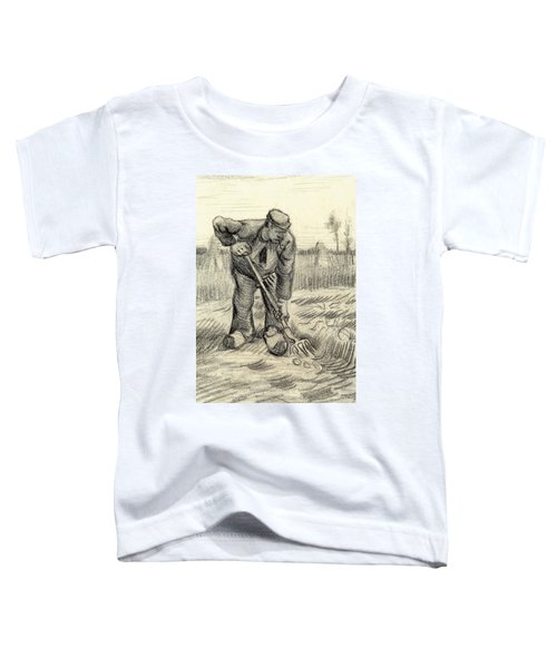 Potato Gatherer Toddler T-Shirt by Vincent Van Gogh