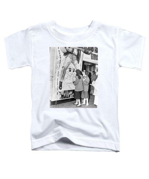 Presley Poster Grafitti Toddler T-Shirt