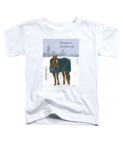 Prince Seasons Greetings Toddler T-Shirt