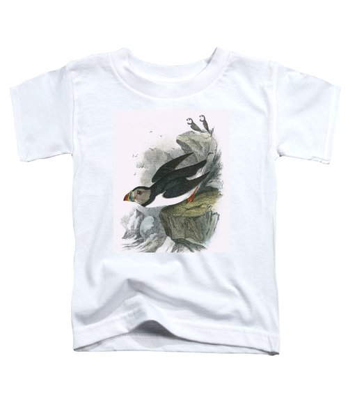 Puffin Toddler T-Shirt by English School