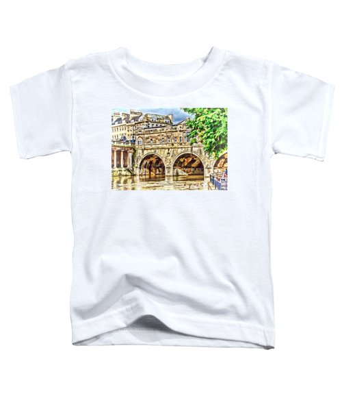 Pulteney Bridge Bath Toddler T-Shirt