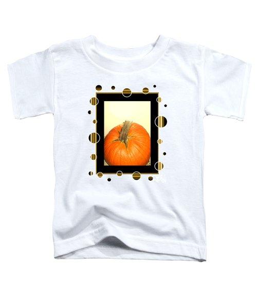 Pumpkin Card Toddler T-Shirt
