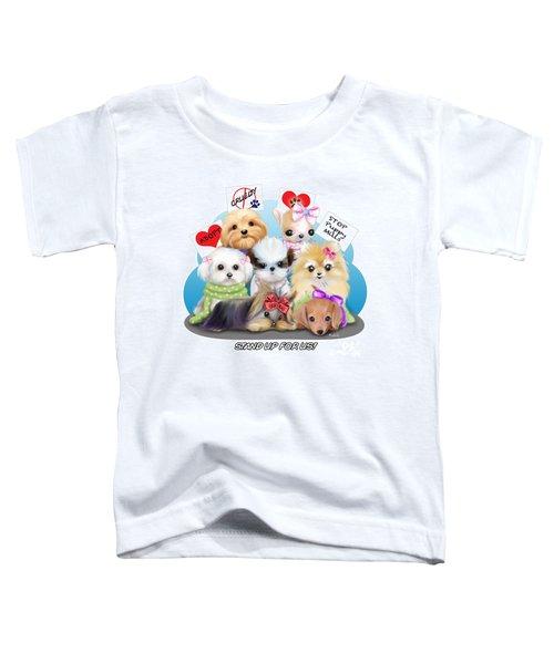 Puppies Manifesto Toddler T-Shirt