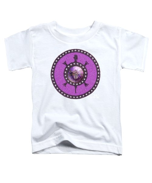 Purple Dragonfly Toddler T-Shirt