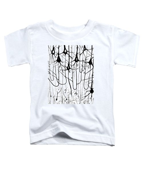 Pyramidal Cells Illustrated By Cajal Toddler T-Shirt