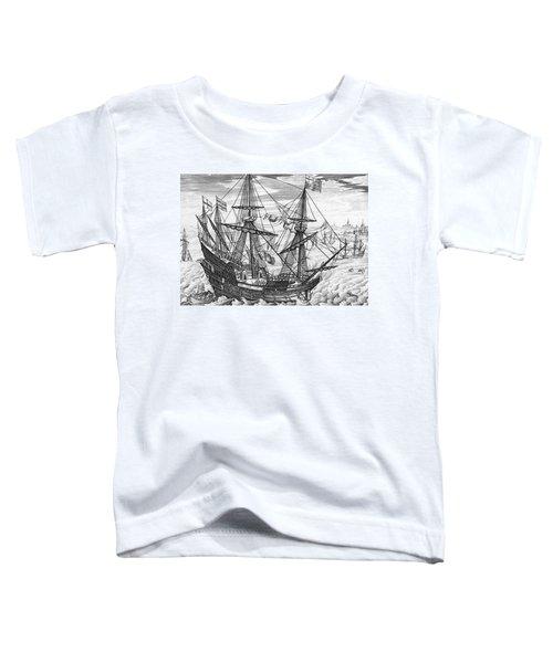 Queen Elizabeth S Galleon Toddler T-Shirt