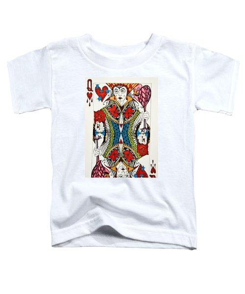 Queen Of Hearts - Wip Toddler T-Shirt
