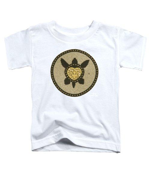 Golden Heart Toddler T-Shirt