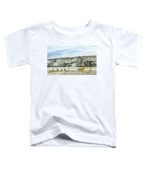 Rafters Loading Helicopter Toddler T-Shirt