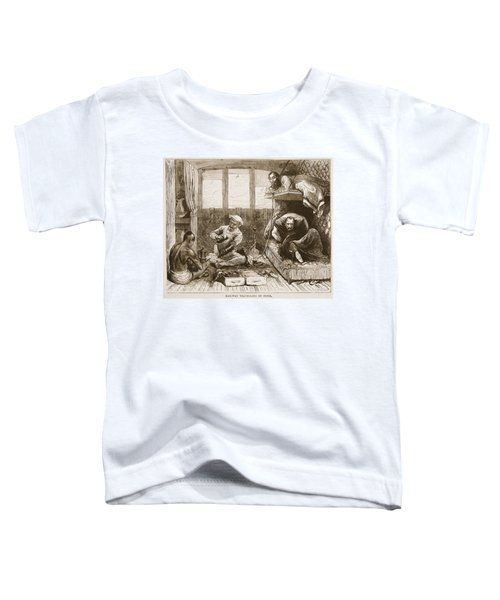 Railway Travelling In India Toddler T-Shirt