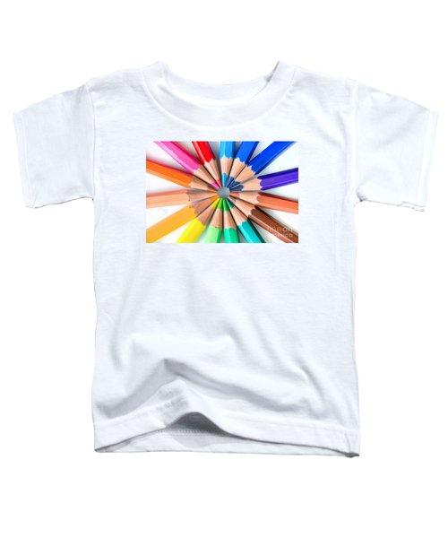 Rainbow Pencils Toddler T-Shirt