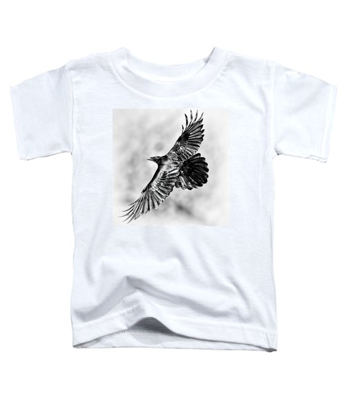 Raven Of Death Valley Toddler T-Shirt
