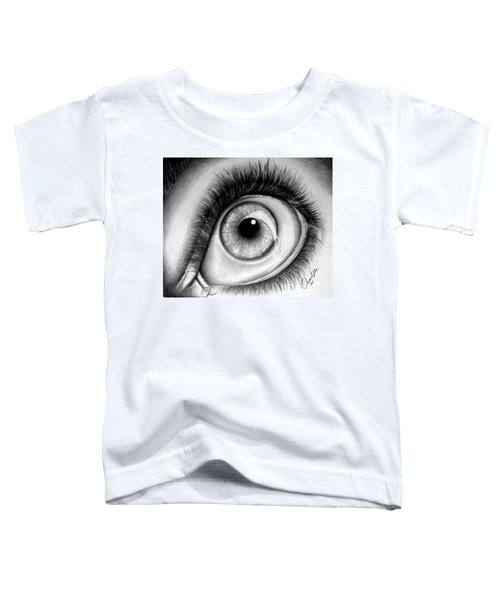 Realistic Eye Toddler T-Shirt