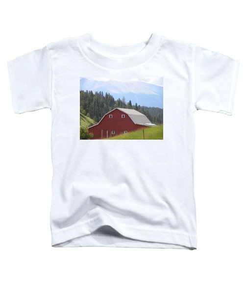 Barn - Pikes Peak Burgess Res Divide Co Toddler T-Shirt