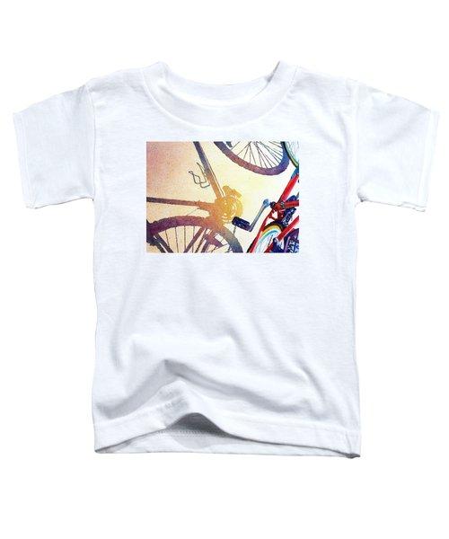 Red Bike Toddler T-Shirt