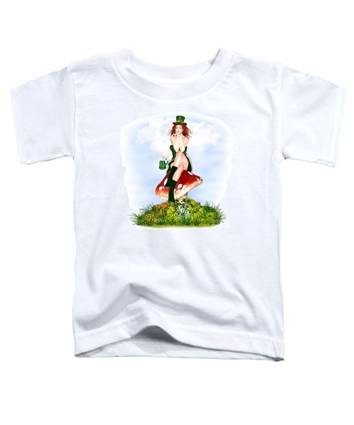 Red Pat Toddler T-Shirt