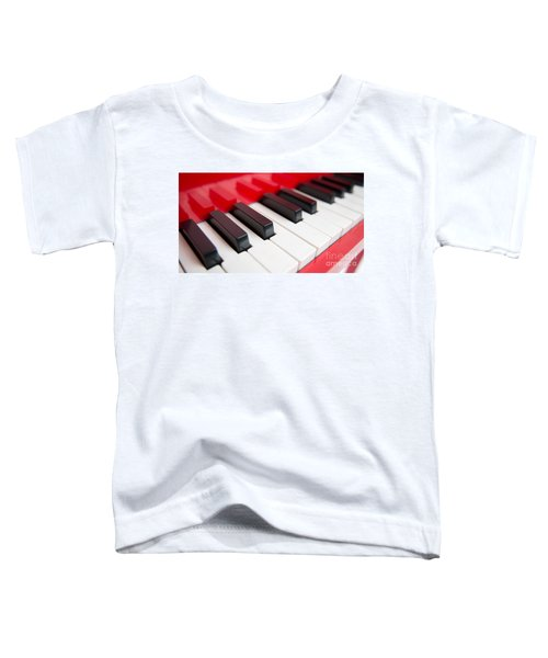 Red Piano Toddler T-Shirt