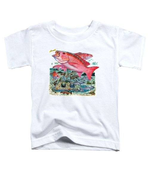Red Snapper Toddler T-Shirt