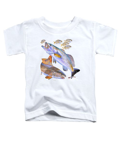 Redfish Trout Toddler T-Shirt