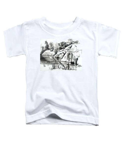 Reflections At Elephant Rocks State Park No I102 Toddler T-Shirt