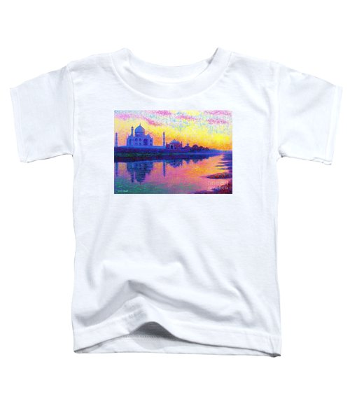 Taj Mahal, Reflections Of India Toddler T-Shirt