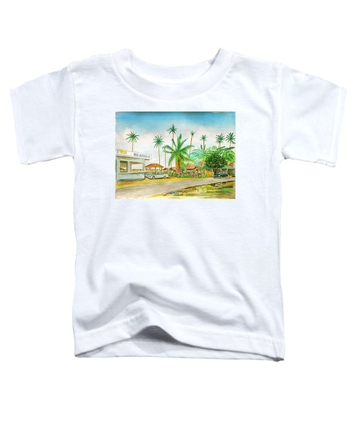 Roadside Food Stands Puerto Rico Toddler T-Shirt