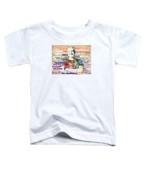 Robin Williams Tribute Toddler T-Shirt