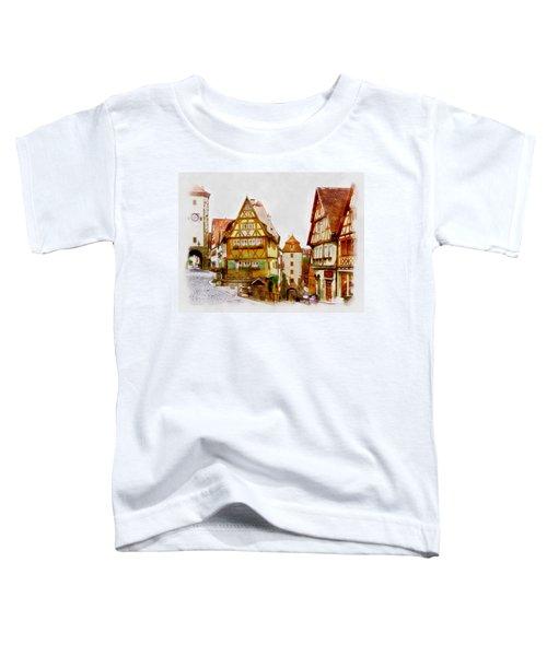 Rothenburg Toddler T-Shirt