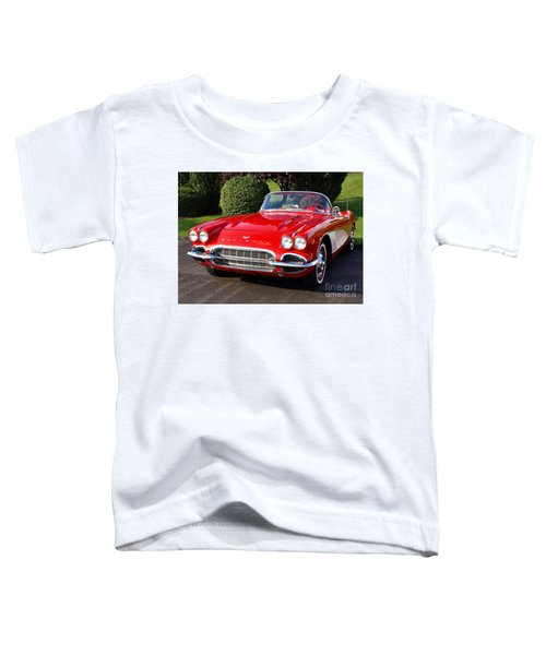 Route 66 - 1961 Corvette Toddler T-Shirt