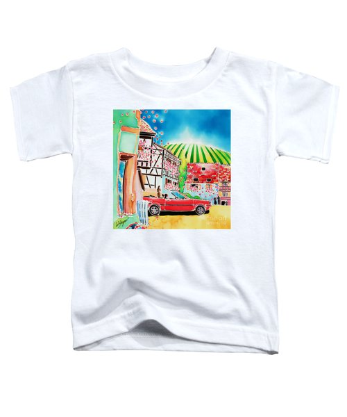Route Des Vins Toddler T-Shirt