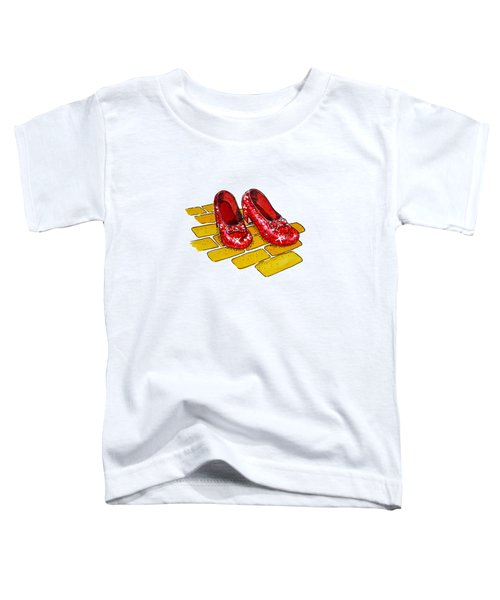 Ruby Slippers The Wizard Of Oz  Toddler T-Shirt