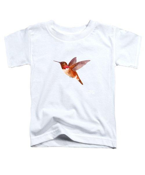 Rufous Hummingbird Toddler T-Shirt