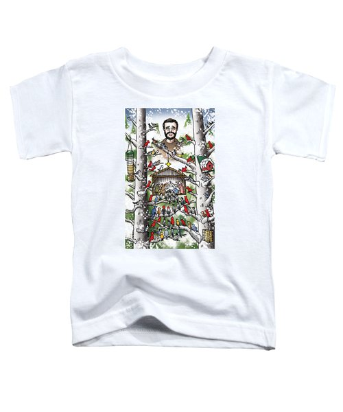 St. Francis And The Birds Toddler T-Shirt