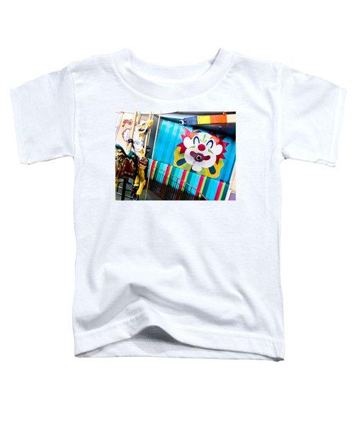 Santa Cruz Boardwalk Carousel Toddler T-Shirt