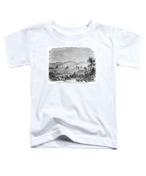 Saratoga: Encampment, 1777 Toddler T-Shirt