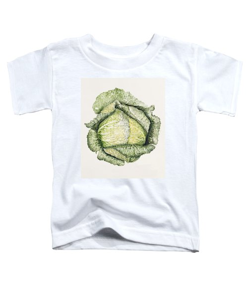 Savoy Cabbage  Toddler T-Shirt by Alison Cooper
