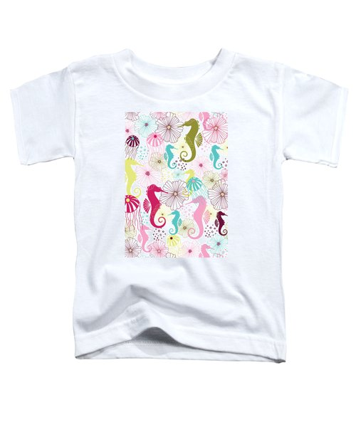 Seahorse Flora Toddler T-Shirt