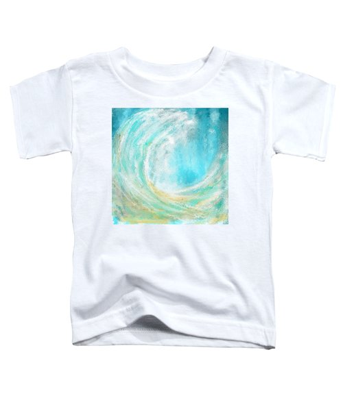 Seascapes Abstract Art - Mesmerized Toddler T-Shirt