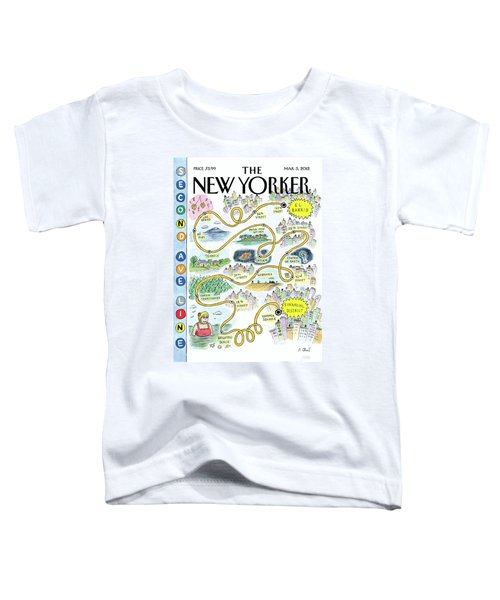 Second Avenue Line Toddler T-Shirt