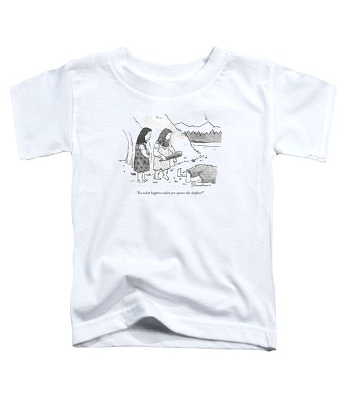 See What Happens When You Square The Clubface? Toddler T-Shirt