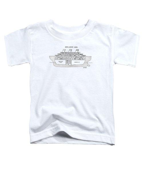 Semi-luxury Liner Toddler T-Shirt