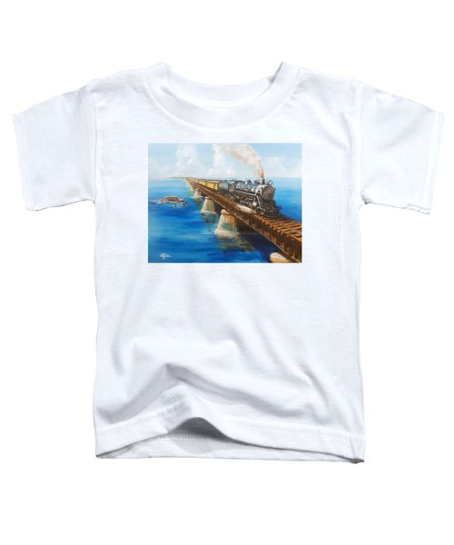 Seven Mile Bridge Toddler T-Shirt