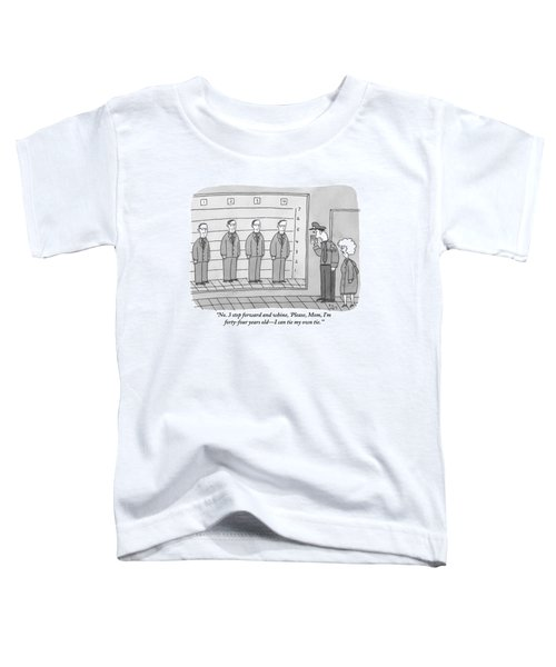 Several Men Dressed In Suits Stand In A Suspect Toddler T-Shirt