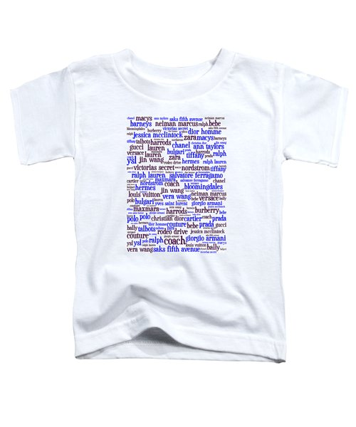 Shop Until You Drop 20130622whi Vertical Toddler T-Shirt