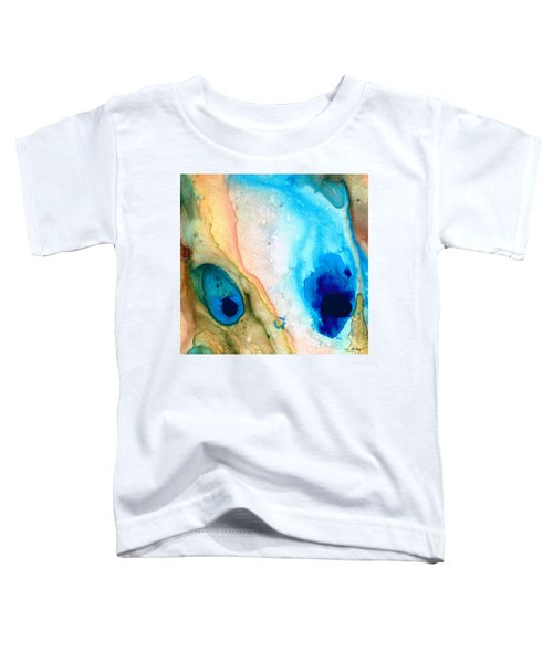 Shoreline - Abstract Art By Sharon Cummings Toddler T-Shirt
