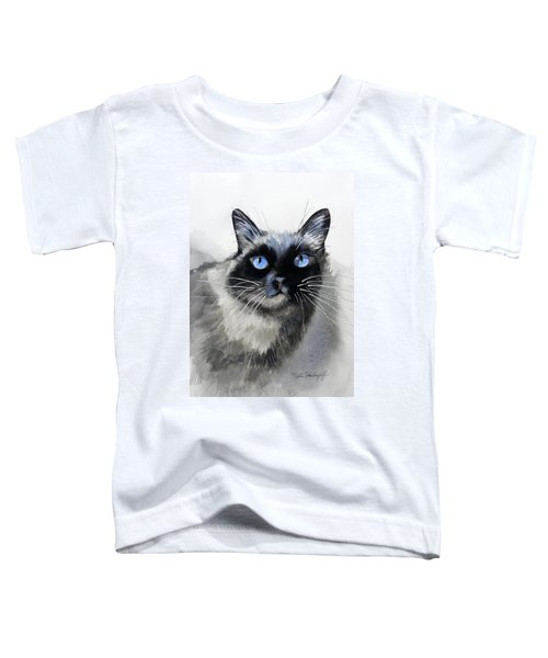 Siamese Cat Toddler T-Shirt