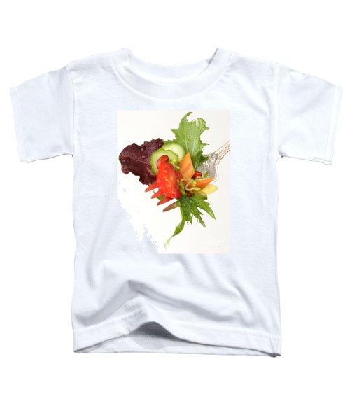 Silver Salad Fork Toddler T-Shirt